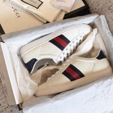 Men Women Calfskin Leather Gucciss Sneakers Shoes 35-45 Top AAA+ Quqaliy