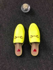 Gucciss lather sandals Shoes Yellow 35-41