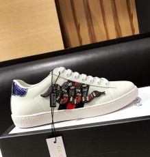 Men's Women's Gucciss Leather Sneakers Shoes 35-44