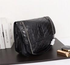 YSL Saint Laurent Niki Handbag Shoulder Bag 498893 Black