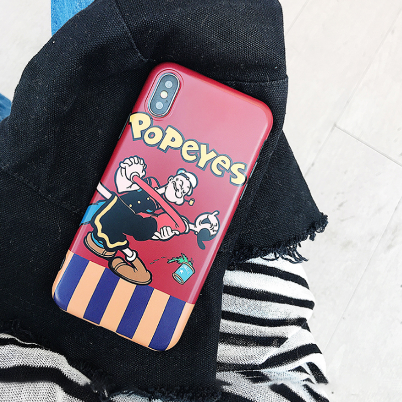 Disney Dumbo iPhone case Popeye cartoon