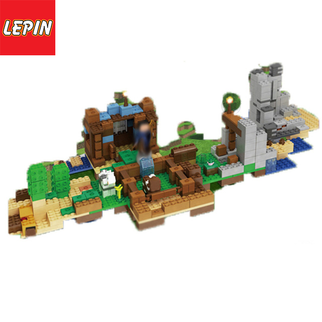 Lepin 18030 Minecrafted  My World Building Blocks Bricks Set Imagination Toy