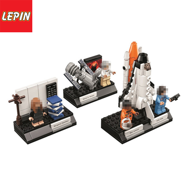 Lepin 35002 258pcs Scientist Lady Set Building Blocks Bricks Educational Toys Gifts