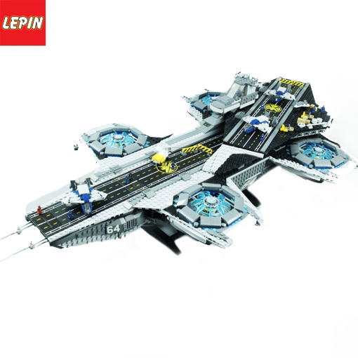 LEPIN 07043 Avengers Super Heroes 3057PCS The Shield Helicarrier Model Building Blocks Bricks Toys Kits For Children