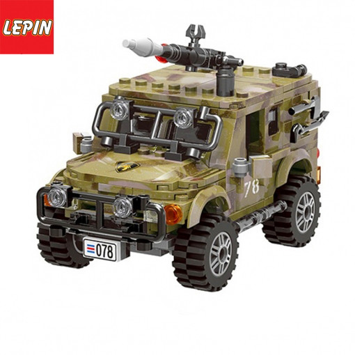 Lepin 06012 Ninja Series World War Military Army Ryan Jeep Battle Building Block Bricks Children Toys