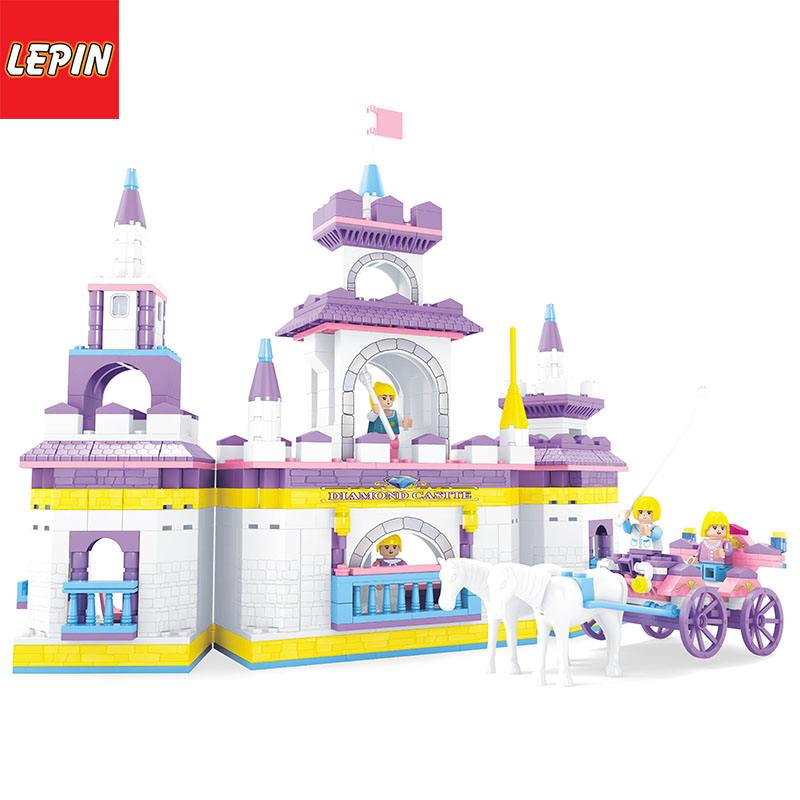 LEPIN 1006W Princess Kris Convenience Store Model Building Blocks DIY Bricks Toys Legoings Friends Girls Blocks Educational Toys For Gifts