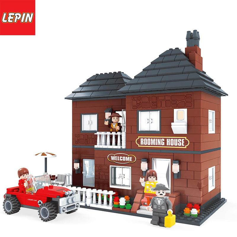 LEPIN 1007W Princess Belles Enchanted Castle Building Blocks for Girl Friends Kids Model Marvel Compatible with Legoe Toys Gift