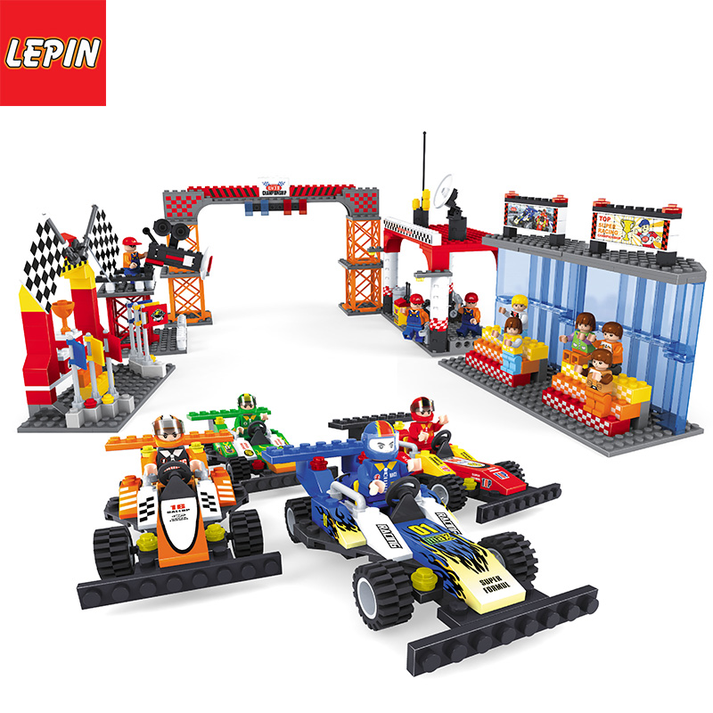 Lepin 1105W Technology Series Racing Car Set