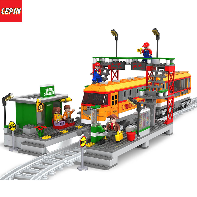 Lepin 1109W City Series Track Train Set Toy