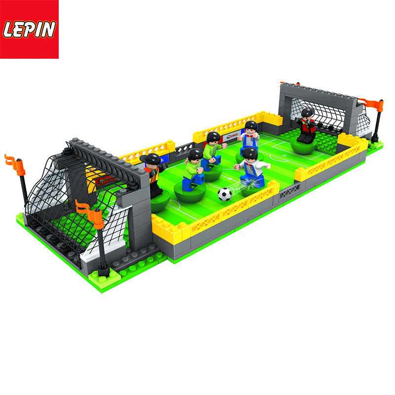 Lepin 1106W ARCHITECTURAL SERIES Football Field Set
