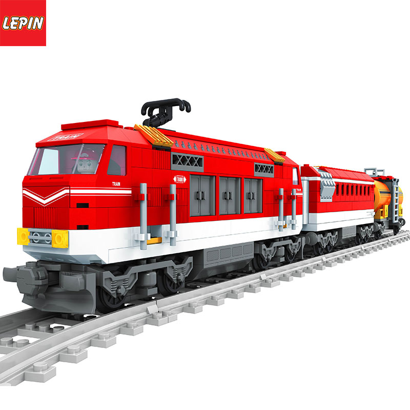 Lepin 1108W CITY SERIES Track Train Set
