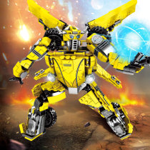 LEPIN SY1228 Legoing Bumblebee Transformerss Car Technic Creative Model Building Blocks Bricks Kids DIY Gifts Toys