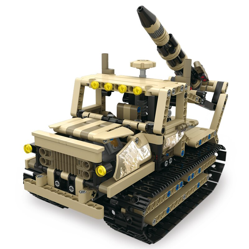 Lepin 13012 Technology Series 606PSC Armour Alliance Rc Blocks Military Series Armed Building Blocks Remote Control Truck Brick Tank
