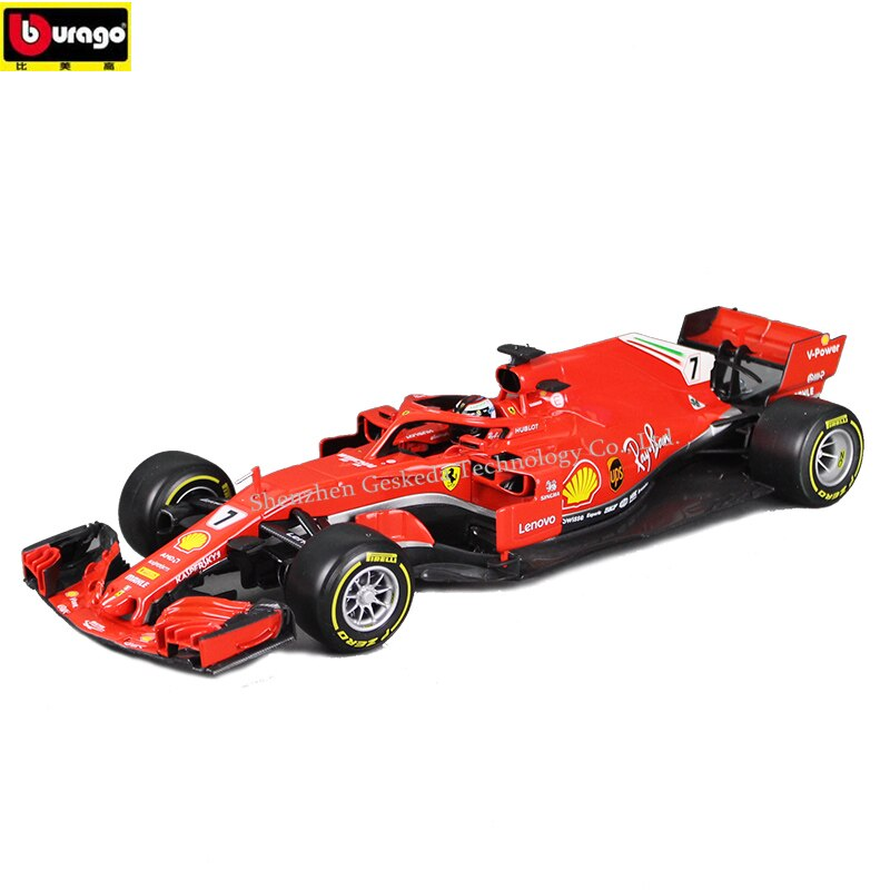 LEPIN SF71H 1:18 Ferrari F1 manufacturer authorized simulation alloy car model crafts decoration collection toy tools
