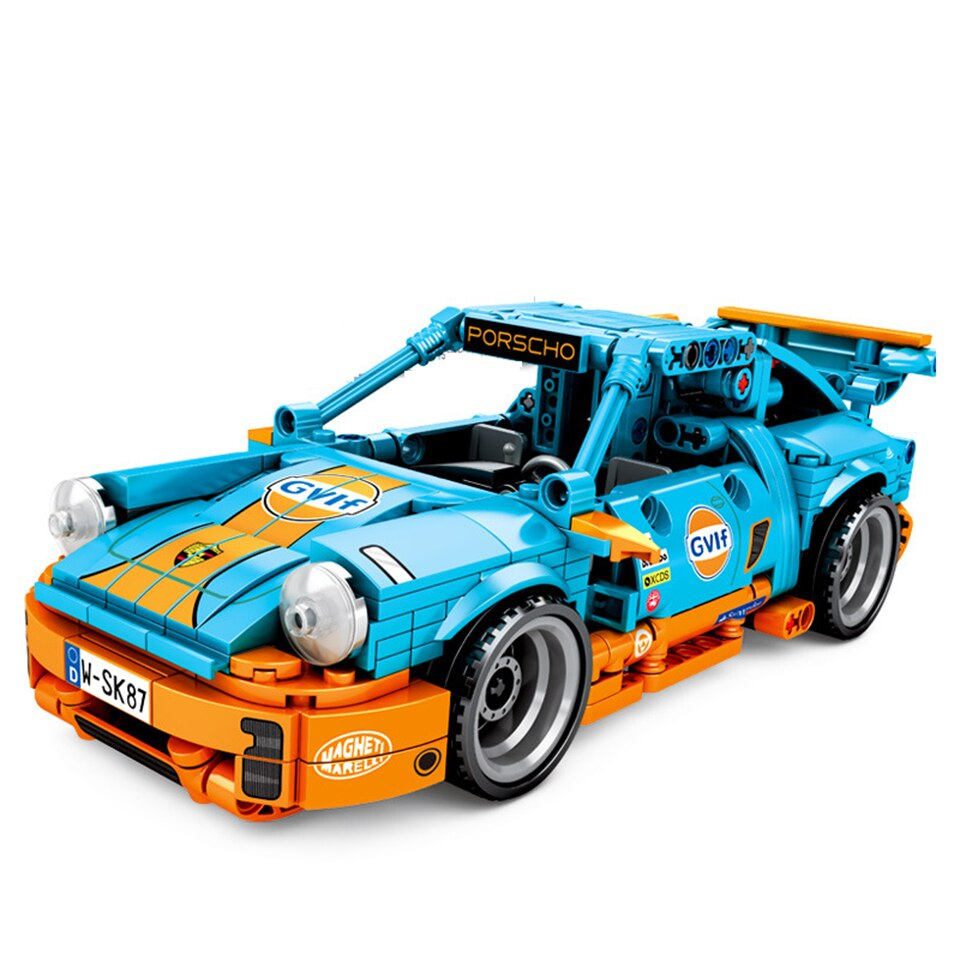 LEPIN 701502 Assemble Technic Porscher Super Racing Car Fit Model Building Blocks Educational Toys Compatible Legod Technic Bricks