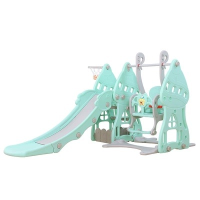 Lepin Large Outdoor Toy Children's Slide Swing Combination Indoor Home Kindergarten Baby Playground Small Children Multifunctional Toys