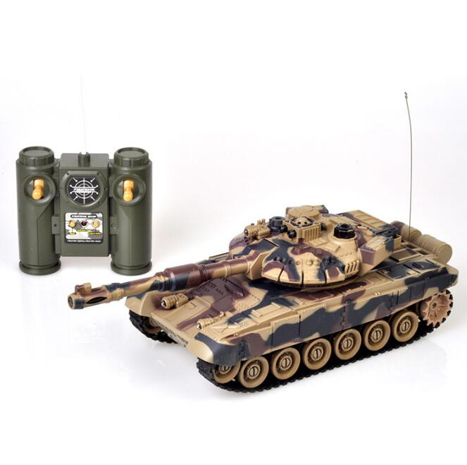 LEPIN 0040 Tank Model RC Cars Toys 1:28 High Speed Fort Rotate Fighting RC Tank Remote Control Tank Toys for Child Kids Boys