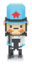 Lepin 8064A-8071A Micro-Particle Puzzle Spell Inserting Creative Building Blocks Nutcracker Soldier Series