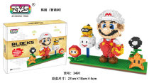Lepin 3490-3491 Small Particle Creative Building Blocks Toys Classic Anime Series Mario Series