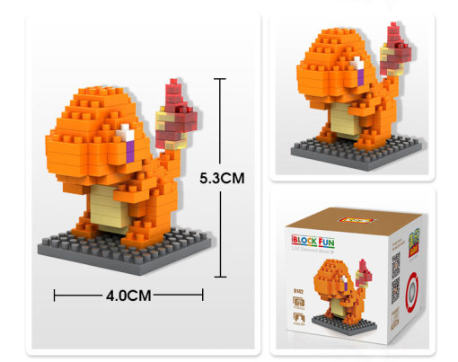 Lepin 9142 Doll Series 110PSC Small Particle Diamond Building Blocks Plastic Insert Toy