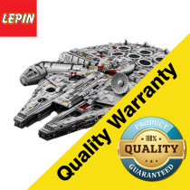 Lepin 8445Pcs Star Wars Series 05132 Ultimate Collector's Millennium Falcon Model Building Kits Blocks Bricks Children Toys
