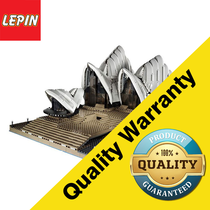 Lepin 17003 Architectural Series 2989PCS Sydney Opera House Sets Model Building Kits Blocks Bricks Children Toys