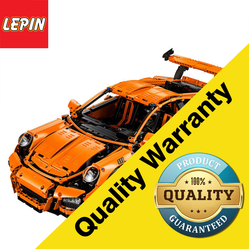 Lepin 20001 Technic Series Porsche 911 GT3 RS 2758PCS Race Car Diy Model Building Blocks Bricks Children Toy Lego 42056