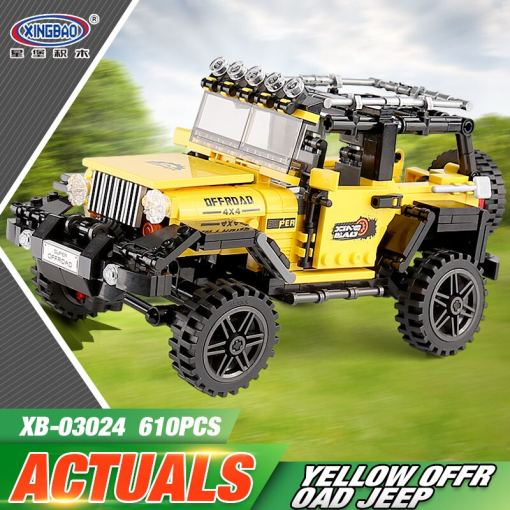 LEPIN 03024 Technic Series The New Technic Offroad Adventure Set Building Blocks Bricks Assembly Kids Toys Christmas Gifts