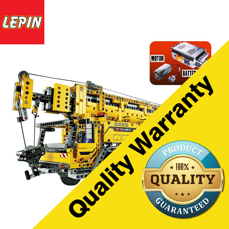 Lepin 20040 Technic Series 1392Pcs Mechanical The Moving Crane Model Building Blocks Bricks Educational Children Toys