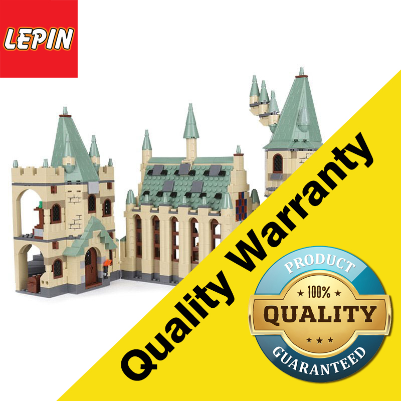 Lepin 16030 Architectural Series 1340PCS Harry Movies Hogwarts Castle Potter Creative Building Block Bricks Children Toys