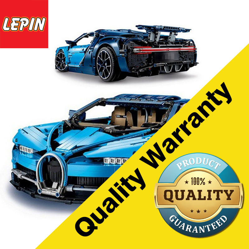 Lepin 20086 Technic Series 4031Pcs Figure Bugatti Chiron Racing Car Set Model Building Kit Blocks Bricks Children Toy