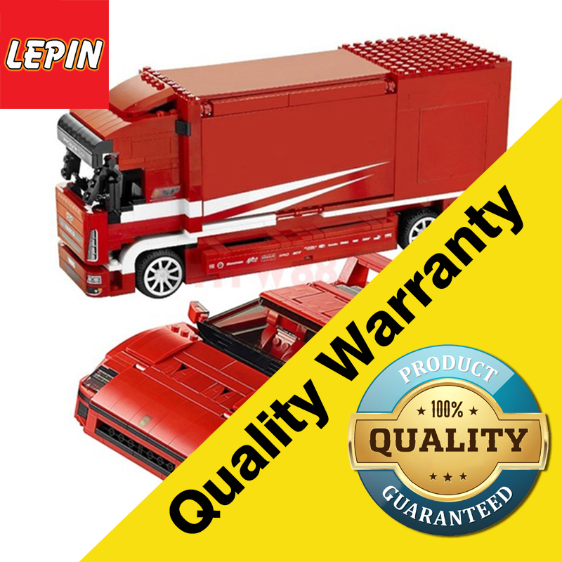 Lepin 21022 Super Racer Kits Truck Car Model Building Kits figures Clone lepinings Toys
