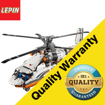 Lepin 20002 Technic Series 1060PCS Double Rotor Transport Helicopter Building Blocks Educational Children Toy