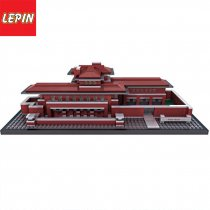 Lepin 17007 Movie Series 2326Pcs The Architecture Robie House Building Blocks Brick Children Toys