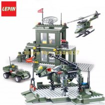 Lepin 23020 425pcs Army Military Headquarters Base Building Block
