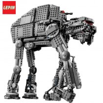 LEPIN 05130 Star Wars Series 1541Pcs The First order heavy assault walker Building Blocks Bricks Toys