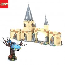 Lepin 16054 Movie Series 844PCS Hogwarts Whomping Willow Building Blocks Bricks Educational Children Toys