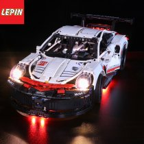 Led light for Lepin 20097 Technic Series 42096 White Super Racing Car Set Building Blocks Bricks Car Model Kids Toys(only light)