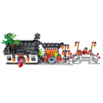 Lepin 610003 Chinese Architecture 760PCS Hui style: Xidi Town 4in1