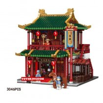 Lepin Chinese Architecture Roadhouse 3046PSC XB-01022 Blocks