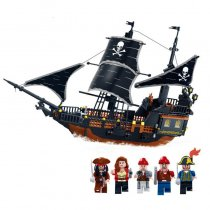 LEPIN 9115 Pirates Ship 652pcs Bricks Black Pearl Building Blocks Sets Christmas Gifts Toys For Children Kids