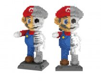 Lepin 7807 Skull-Type Mario Miniature Small Building Blocks Spelling Creative Children's Toy Blocks