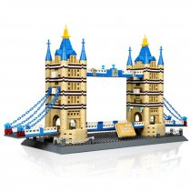 LEPIN 8013 1033Pcs World Famous Architecture Notre-Dame London Tower Bridge Building Blocks Bricks Toys Compatible Legoings 8013