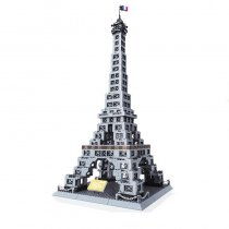 LEPIN 5217 Wange Architecture The Eiffel Tower Model Building Blocks Enlighten Figure Toys For Children Compatible Legoe
