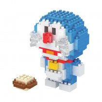Lepin Building blocks Doraemon toy creative spell inserting blocks