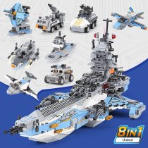 LEPIN 13001 8 IN 1 Series The New 05027 Super Universe Battleship Set Building Blocks Bricks Assembly Kids Toys Gifts