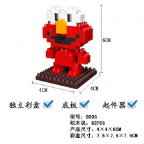 Lepin 9005 Doll Series 82PCS Building Block Cartoon Character With Bottom Plate Remover