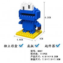 Lepin 9007 Doll Series 82PSC Building Block Cartoon Character With Bottom Plate Remover