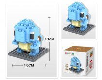 Lepin 9140 Doll Series 110PSC Small Particle Diamond Building Blocks Plastic Insert Toy