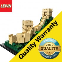 Lepin 17010  Architecture Series 617Pcs The Great Wall Set Building Blocks Bricks Toys